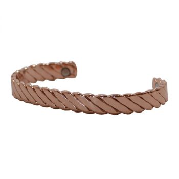 Bracelet, Twist Flat Copper