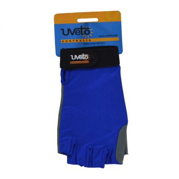 Sun Safe Gloves - Blue