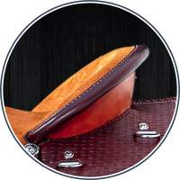 Saddle Component - Cheyenne Roll Two Tone