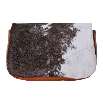 Purse, Heritage, Clutch, Hair-On, Kangaroo leather - Black and White fur