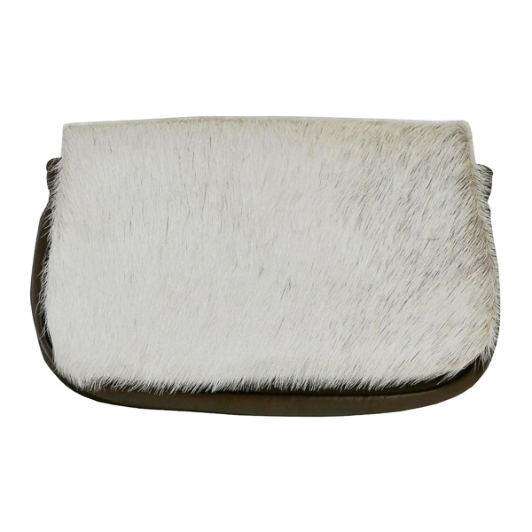 Purse, Heritage, Clutch, Hair-On, Kangaroo leather - Front