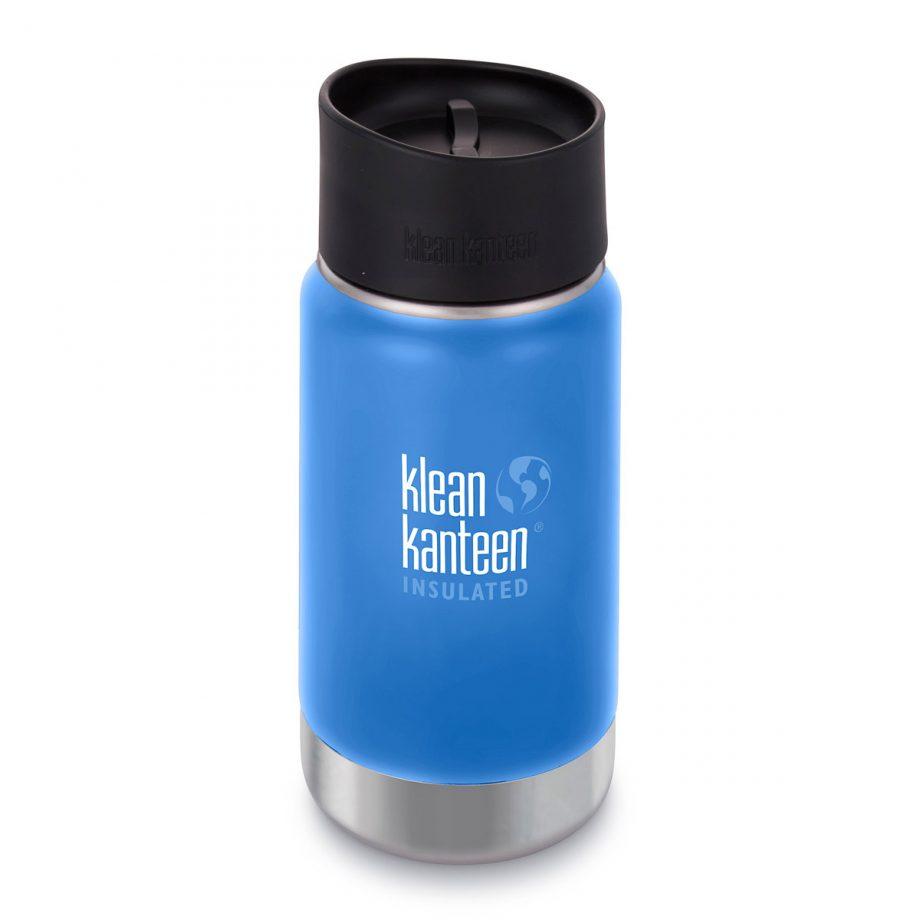 Kleen Kanteen, 12oz (355ml) Wide Insulated Café Cap Pacific Sky