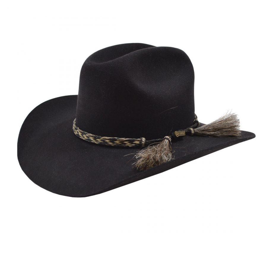 Hat, Akubra, Rough Rider, Black 1