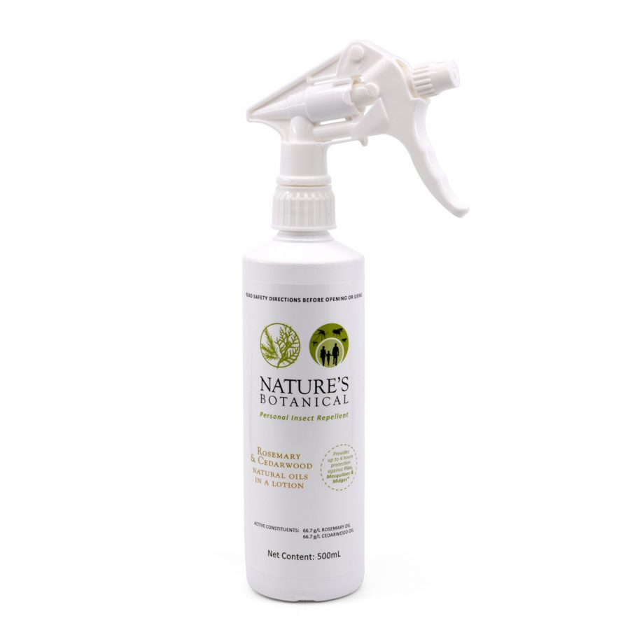 Nature's Botanical Insect Repellant, 500ml Spray Lotion 1